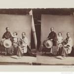 [Paul Nadar et deux membres de l'ambassade Japonaise 1862]