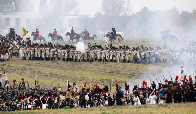 Re-enactment > The battle of Leipzig
