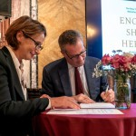 The New York Public Library and the Bibliothèque Nationale de France sign a partnership agreement