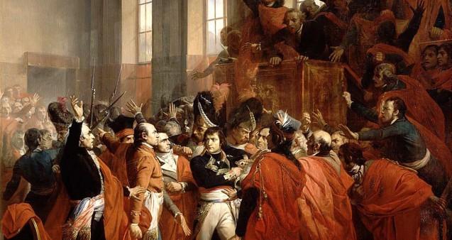 1799, le coup d'État du 18 Brumaire : le général Napoléon Bonaparte prend le pouvoir > cours, infographie et bibliographie - napoleon.org
