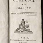 1804, le Code civil des Français : la même loi pour tous, partout > cours