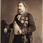 A photographic portrait of Comte Émilien de Nieuwerkerke (1811-1892), intendant des Beaux-Arts (1853), honorary chamberlain of the  Emperor (1859)