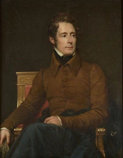 LAMARTINE, Alphonse de (1790-1869), poète et homme politique