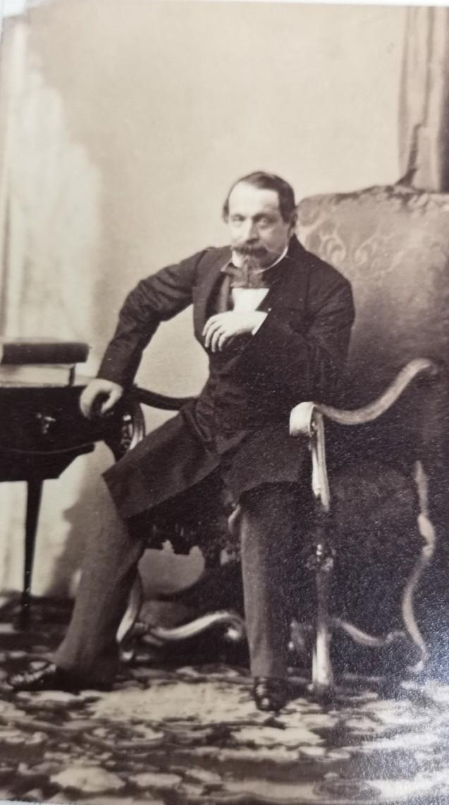 Portrait de Napoléon III par DISDERI © Fondation Napoléon