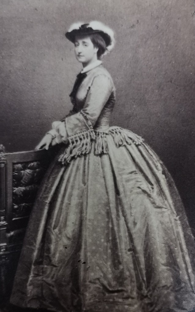 Portrait d'Eugénie par MAYER & PIERSON © Fondation Napoléon
