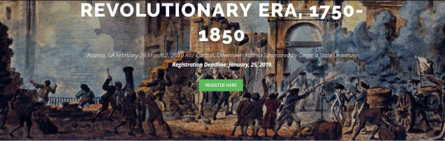 CRE – Consortium on the Revolutionary Era, 1750-1850