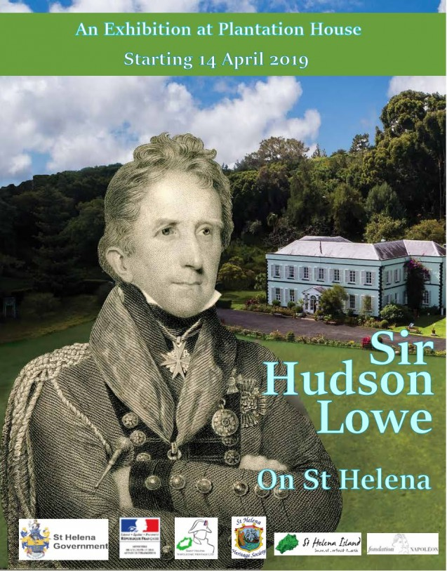 Sir Hudson Lowe on St Helena