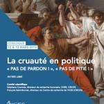 La cruauté en politique : pas de pardon, pas de pitié