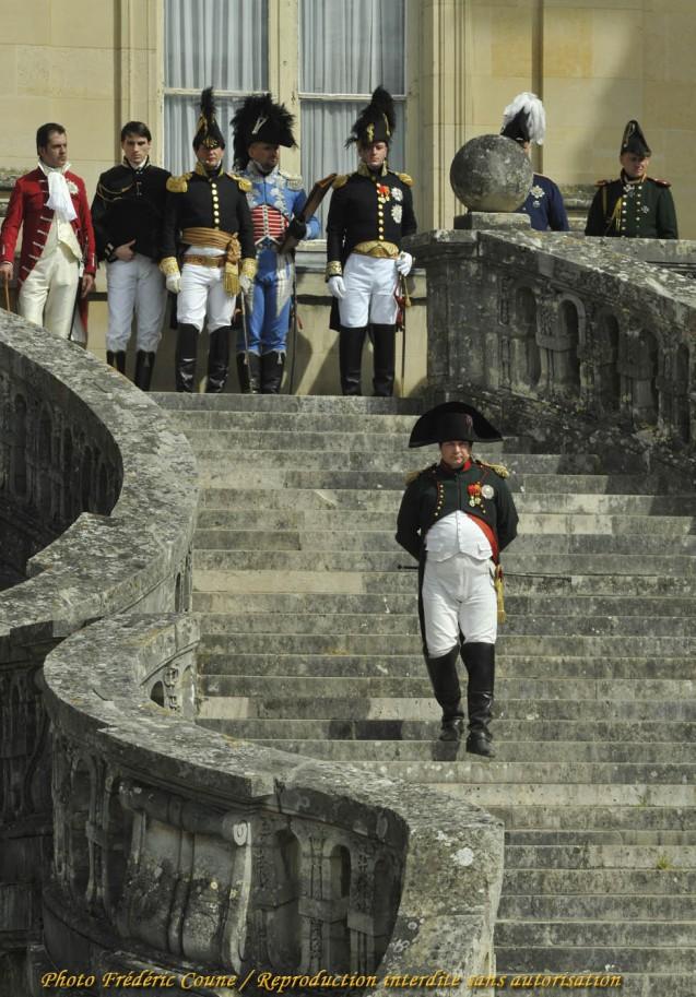 Reconstitution de Napoléon à Paris le 20 mars 1815
