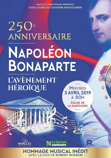 250e anniversaire de Napoléon Bonaparte : l'avènement héroïque
