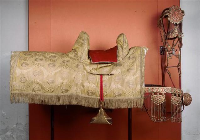 Harnachement de cheval de Mameluck offert à Napoléon. © RMN-Grand Palais (musée des châteaux de Malmaison et de Bois-Préau) - Mathéus