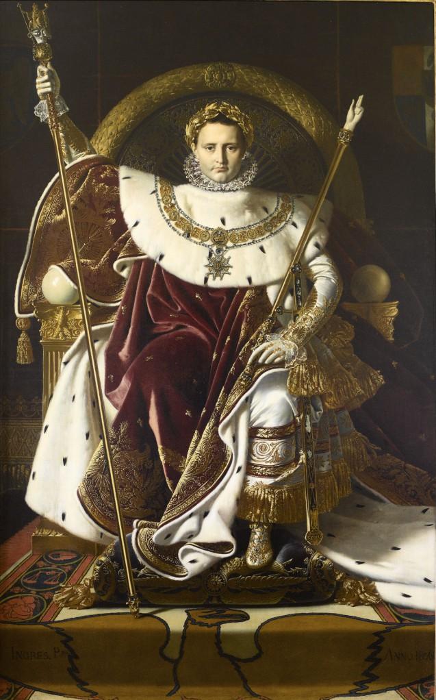Jean-Auguste-Dominique Ingres: La Vita Artistica al Tempo dei Bonaparte