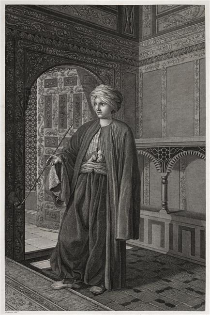 Le Mamelouk, 1817, anonyme © RMN Grand Palais - châteaux de M%almaison et Bois-Préau - Franck Raux
