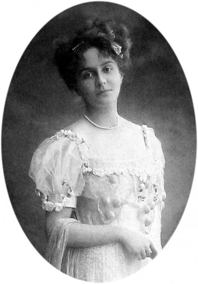 Portrait de Marie Bonaparte, fille de Roland Bonaparte, princesse de Grèce © Wikicommons