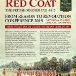 From Reason to Revolution Conference 2019 – The British soldier 1721 -1815