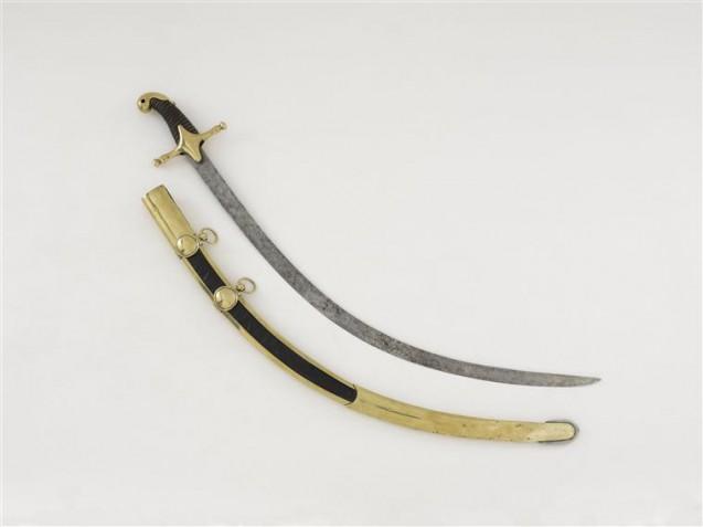 Sabre de mamelouk de la Garde Consulaire © Paris - Musée de l'Armée, Dist. RMN-Grand Palais - Emilie Cambier