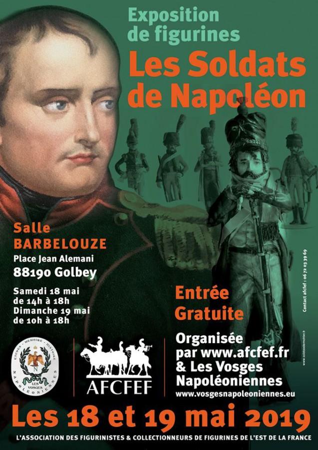Les soldats de Napoléon en figurines