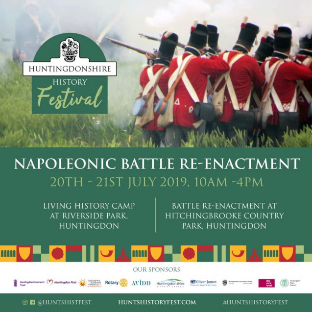 Hutingdonshire History Festival and Napoleonic Re-enactment