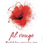 Fil rouge [Painting Rueil-Malmaison red]