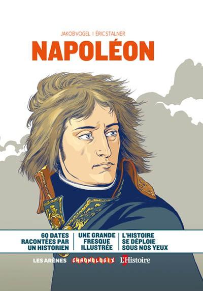 Napoléon raconté en 60 dates, une grande fresque illustrée des éditions Les Arènes (mai 2019)