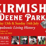 Skirmish at Deene Park