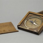 Napoleon Bonaparte's compass when he was at the École Royale Militaire in Brienne