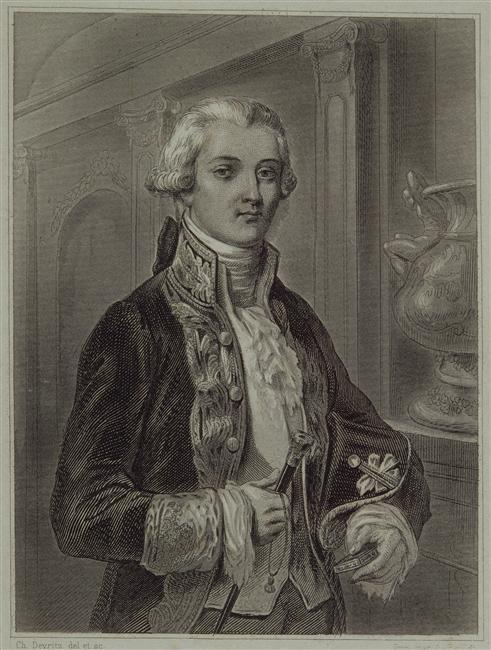 Charles Devritz - Portrait de Charles Bonaparte (1746-1785), père de Napoléon © RMN-Grand Palais (musée des châteaux de Malmaison et de Bois-Préau) - Gérard Blot