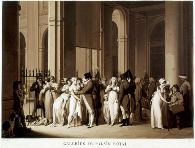 Document > Une rencontre au Palais-Royal