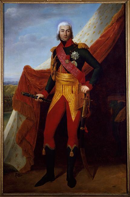 Portrait du maréchal Jean-Baptiste Bessières, duc d'Istries (1768-1813), par Henri-François Riesener © RMN-Grand Palais - Agence Bulloz