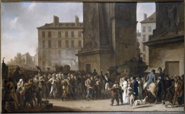 Le départ des conscrits de 1807, Léopold Boilly © RMN-Musée Carnavalet