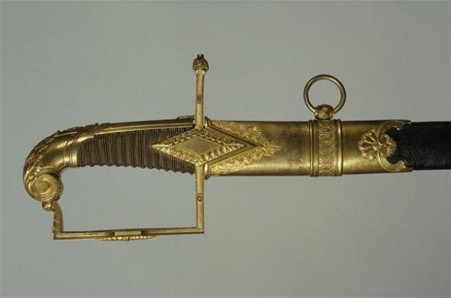 Détail - Sabre de récompense dit du 19 Brumaire 1799, par Nicolas-Noël Boutet © Paris - Musée de l'Armée, Dist. RMN-Grand Palais - Pascal Segrette
