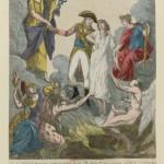 « La France avant le 18 Brumaire de l'an VIII : éplorée, dénuée de tout, entraînée par le désespoir et la discorde, elle est ranimée par l'espérance et remise par Bonaparte entre les mains de la paix. »