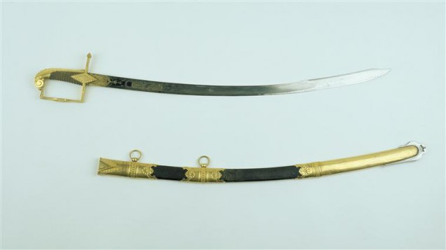 Sabre of Honour awarded to Jean-Baptiste Bessières by Napoleon Bonaparte for his role on 19 Brumaire