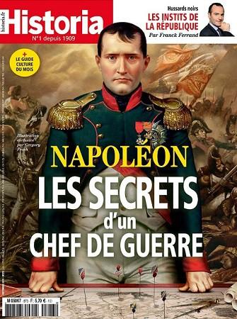 Historia n°873, septembre 2019 : Napoléon. Les secrets d'un chef de guerre