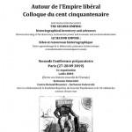 Autour de l'Empire libéral. Colloque du cent cinquantenaire
