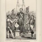 Louis-Napoléon Bonaparte rétablissant le suffrage universel, Le 2 Décembre 1851 : [estampe]