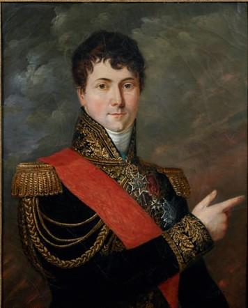Le général Charles Étienne Gudin de la Sablonnière. Huile sur toile de Georges Rouget, 1839 © Musée de l'Armée