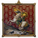 Kehinde Wiley meets Jacques-Louis David