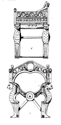 """Planche XXIII (Monuments de Dagobert) de l'ouvrage """"France historique et monumentale"""" d'Abel Hugo (1837). © Wikipedia"""