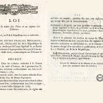 Vidéo et Texte de loi > Napoléon Bonaparte et le rétablissement de l'esclavage, 20 mai 1802 (5 min 40)