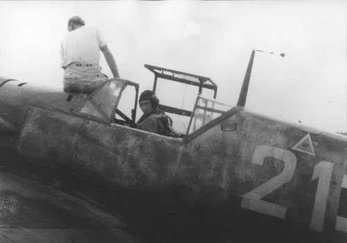 Alexis Fürst zu Bentheim und Steinfurt, pilote de la Luftwaffe mort à 22 ans en 1943, dont la dépouille fut mise à jour en mis à jour en 1964 et identifié plus de 40 ans plus tard par l'INPS Marseille © calanco.fr/famille Bentheim