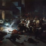 Orsini's attack [on Napoleon III] outside the Opera, 14 January 1858