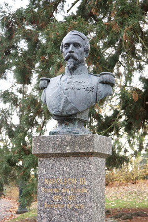 Buste de Napoléon III à Vichy d'après Jean-Auguste Barre © Culture.Allier.fr/Karen Maignan