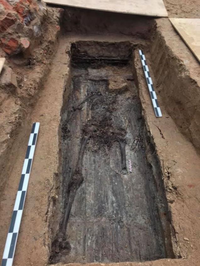 Squelette présumé du général Gudin découvert été 2019 en Russie ©LePoint.fr