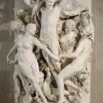 La Danse, groupe sculpté pour la façade de l'Opéra Garnier