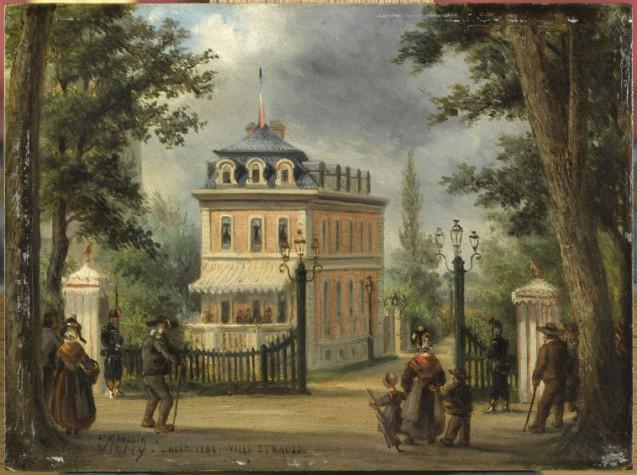 Louis Moullin, La Villa d'Isaac Strauss à Vichy, 1862 © RMN-Grand Palais (domaine de Compiègne) - René-Gabriel Ojéda