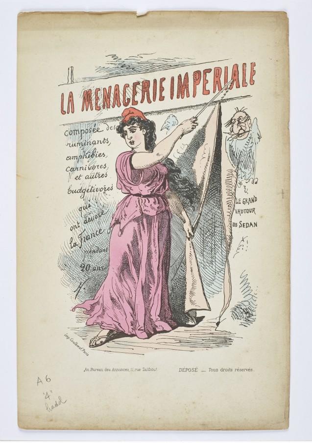 La ménagerie impériale, composée des ruminants, amphibies, carnivores et autres budgétivores qui ont dévoré la France pendant 20 ans