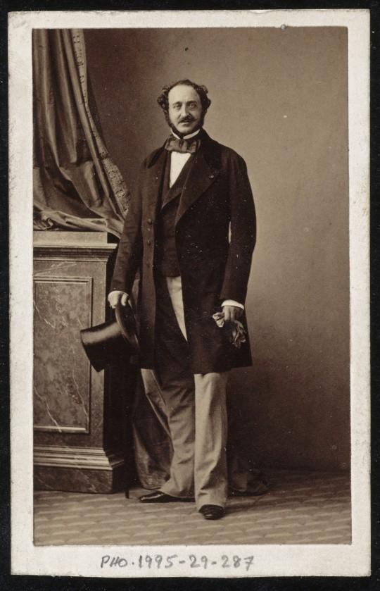 Le duc de Gramont vers 1865 par André-Adolphe-Eugène Disdéri © RMN-Grand Palais (musée d'Orsay) - Jean-Gilles Berizzi