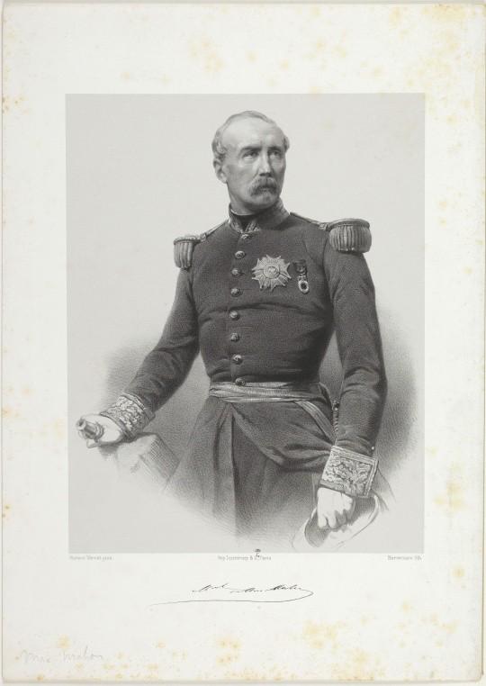 Patrice de Mac Mahon, par Bornemann, d'après Horace Vernet © RMN-Grand Palais (domaine de Compiègne) / image Compiègne Compiègne, château