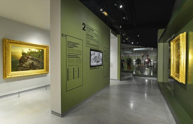 Salle du musée de la Guerre de 1870 et de l'Annexion © Florent Doncourt - Conseil Général de la Moselle